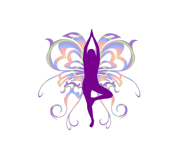 butterly wings tree pose