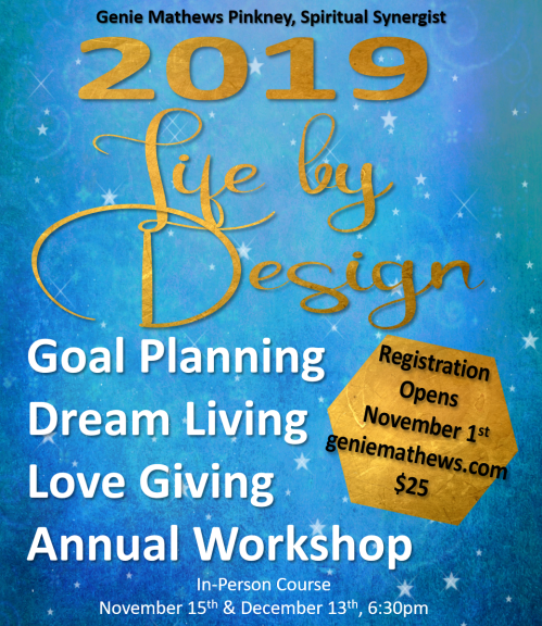 life by design flyer