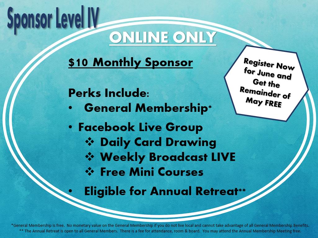 Online Membership Now Open